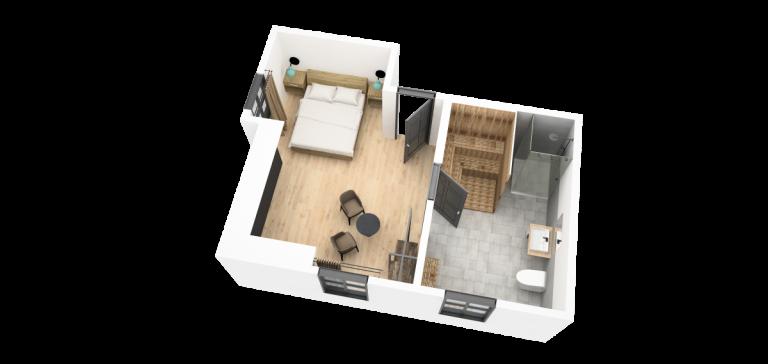Nordal Suite mit Sauna Grundriss_vukee55_transparent
